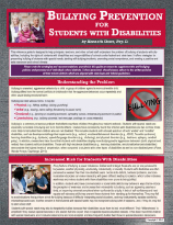 Bullying Prevention for Students with Disabilities by Dr. Kenneth Shore